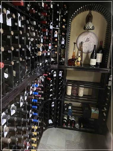 Client Lauds Perfect Design & Fit Of Custom Wine Cellar