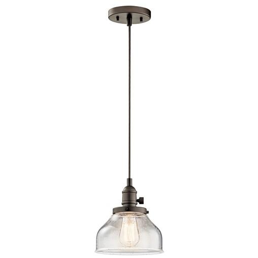 Avery™ 1 Light Bell Mini Pendant Olde Bronze®