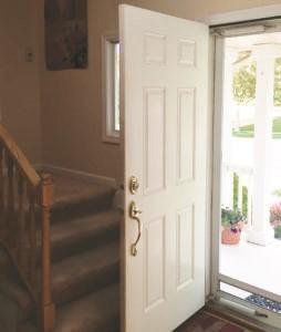 Door-Stair Conflict