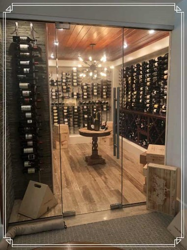 Opening Your Wine Cellar Space With Wall Wine Racks