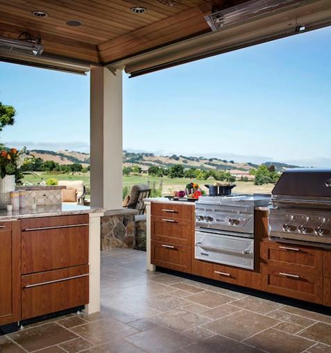 Outdoor Kitchen Trends 2021