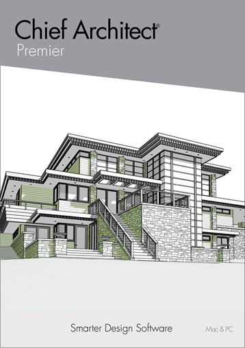 The box art used for the cover of Chief Architect Premier.