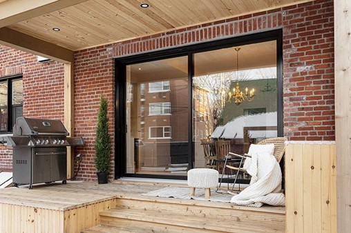 Let the Light in with an Oversized Patio Door