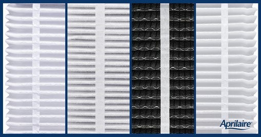 Image of Aprilaire air filter types