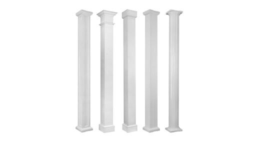 Aluminum Porch Columns - Fluted Columns & Metal Porch Columns