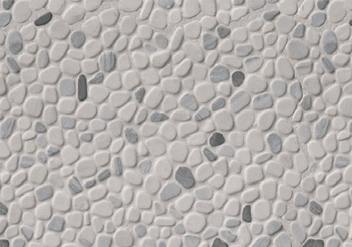 3-6-20 RTA2-Black And White Pebbled Tumbled Pattern