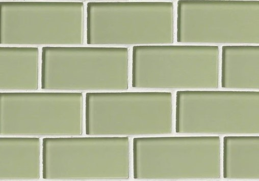 6-26-20 RTA4-Mint Green Glass 2_ x 4_ Subway Tile