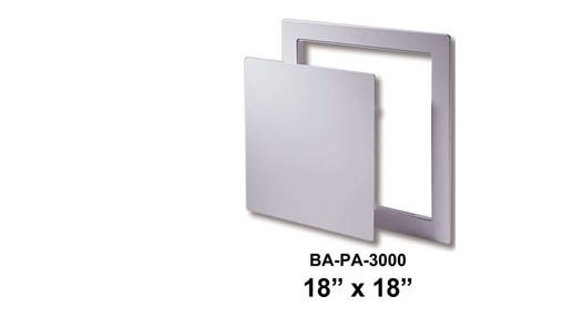 """18"""" x 18"""" Flush Plastic Access Door"""