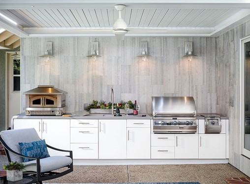 Solving Problems in an Interior and Exterior Kitchen