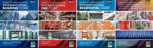 Significant changes to the 2018 International Building Code