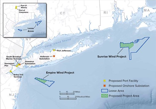 New York Enacts 100% Clean Energy Law, Secures 1.7 GW of Offshore Wind