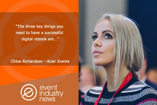 Podcast: Key Steps to Rebooking Digital Events
