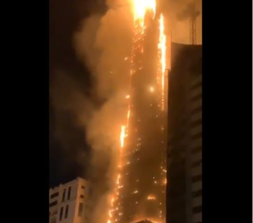 Rapid Response: Quick Evacuation Likely Saved Lives in UAE High-Rise Blaze