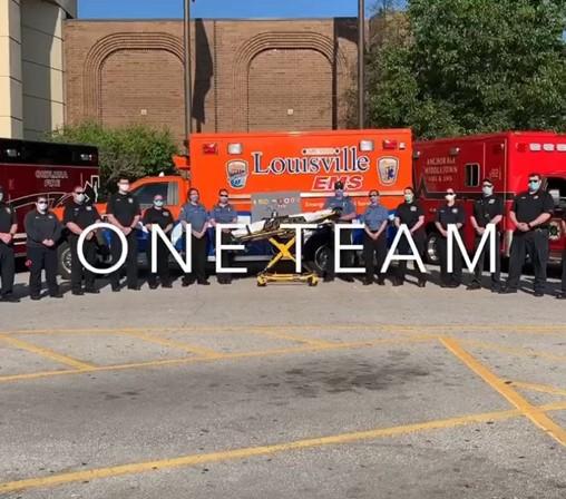 8 Ky. Fire, EMS Crews Unite for Suicide Prevention