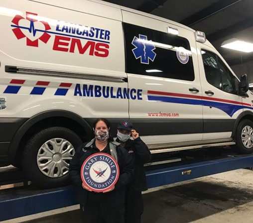 Gary Sinise Foundation, Tire Company Donate New Tires for Emergency Vehicles