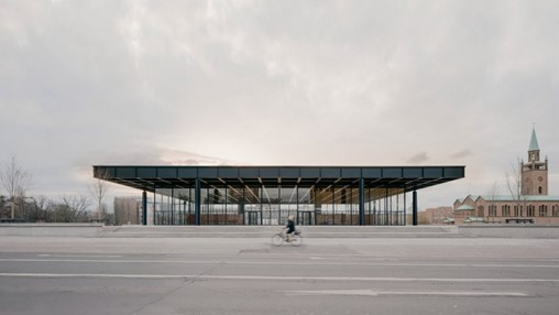 """David Chipperfield completes """"surgical"""" overhaul of Mies van der Rohe's Neue Nationalgalerie"""