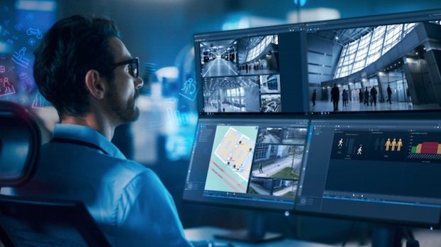 BVMS 11.0, the latest version of AIoT software from Bosch, offers a map-based tracking wizard to facilitate operator work and decision-making.