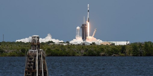 Dogecoin rally helps launch new lunar satellite by Elon Musk's SpaceX