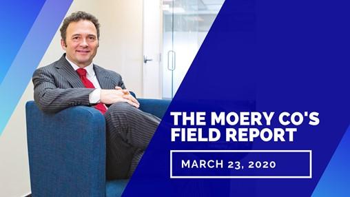 Association Field Report (March 23, 2020)