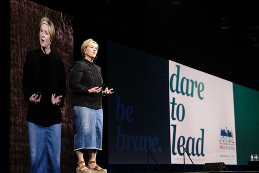 Brené Brown at SHRM Conference: 'Leaders Are Never Quiet About Hard Things'