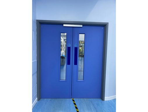 Fire door safety maintained at West Lothian Schools with Yeoman Shield fire door services