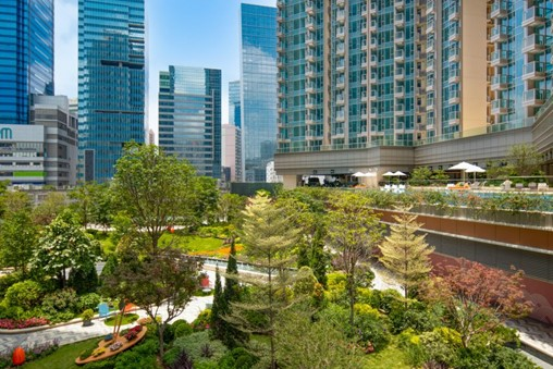 Sino Land's Grand Central Complex immerses residents in greenery