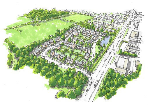 Godwin Developments submits outline plans for new homes in Shepshed