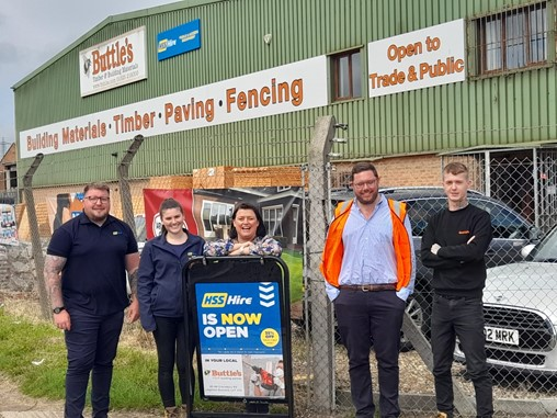 Buttle's adds HSS Hire in Leighton Buzzard branch