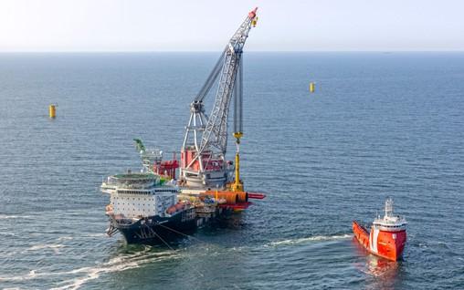 Construction of Hollandse Kust Zuid underway