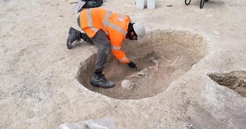 Prehistoric Remains Uncovered at Cambridgeshire Housing Development