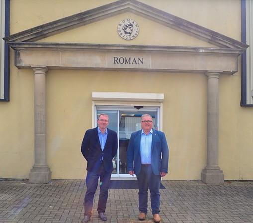 Roman welcomes local MP