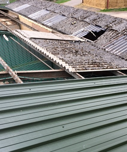 Construction company fined after worker falls from domestic garage roof
