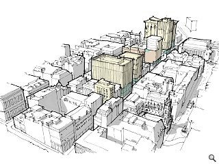 Hotel dropped in favour of a mixed-use Bath Street block