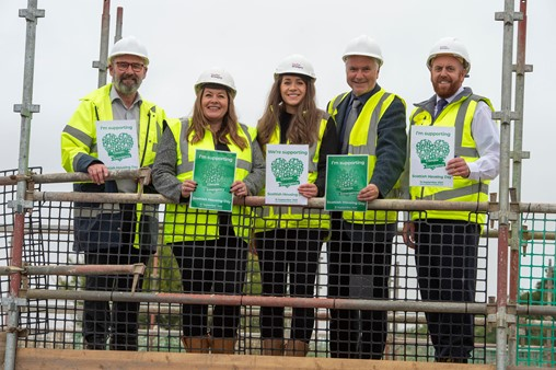 Taylor Wimpey and Kingdom hail progress on new Dunfermline affordable homes