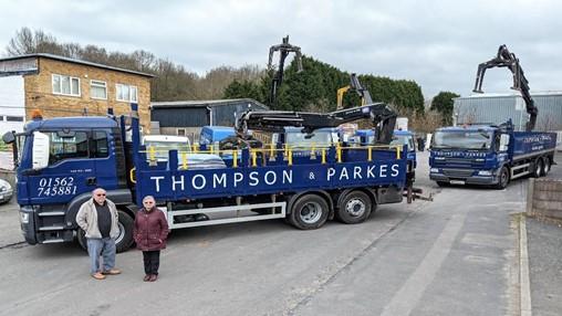 Fleet investment for Thompson & Parkes