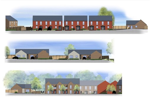 Construction underway on £7m Lincoln affordable housing project