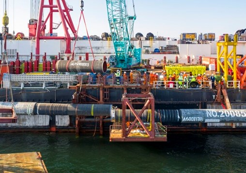 Gazprom completes construction of €9.5bn Nord Stream 2 gas pipeline