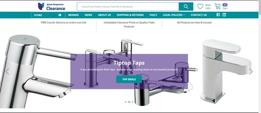 James Hargreaves launches online clearance warehouse