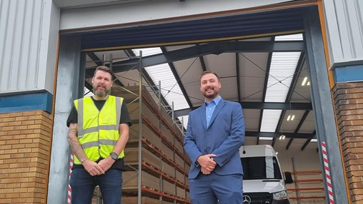 Nu-Style Products opens first distribution centre in England