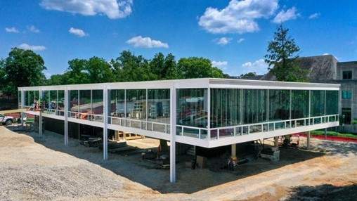 Rediscovered Mies van der Rohe design being built at Indiana University