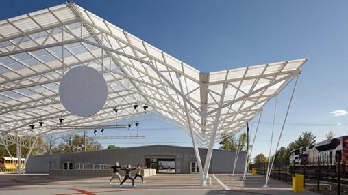 Ross Barney Architects designs public park for city in Arkansas