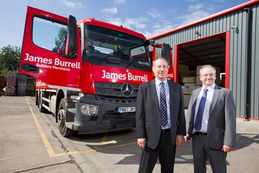 James Burrell Builders Merchant further invest £100k into their South Yorkshire site