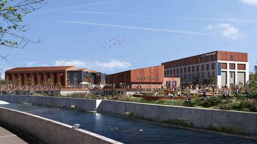 Muse to deliver new Travelodge at Rotherham's Forge Island