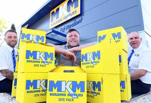 Geoff Horsfield opens new MKM Building Supplies in Birmingham