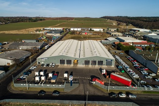 Acquisition of £6.5m Dundee industrial estate completed