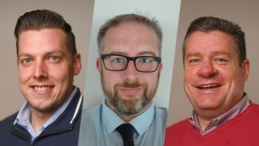 Keylite appoints three Area Sales Managers to serve Irish market