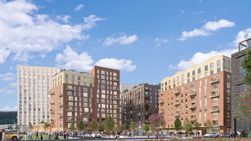 Plans submitted for new riverside community of 780 homes at Titanic Quarter, Belfast