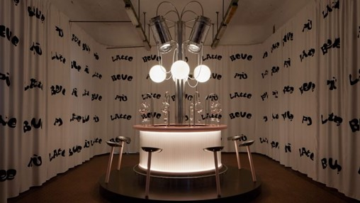 Geneva students draw upon female form to reimagine Clockwork Orange milk bar